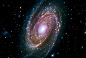 -- Image: M81 Spiral Galaxy (--X-ray: NASA/CXC/SAO; Optical: Detlef Hartmann; Infrared: NASA/JPL-Caltech)